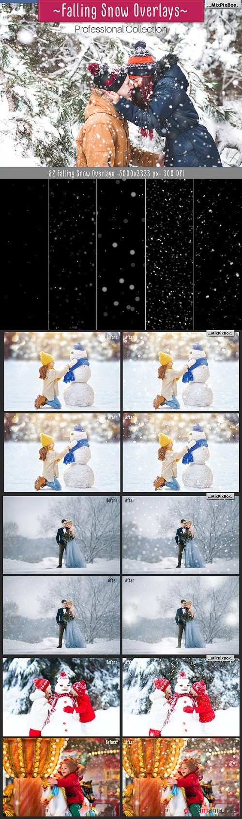 Falling Snow Overlays - 2044153