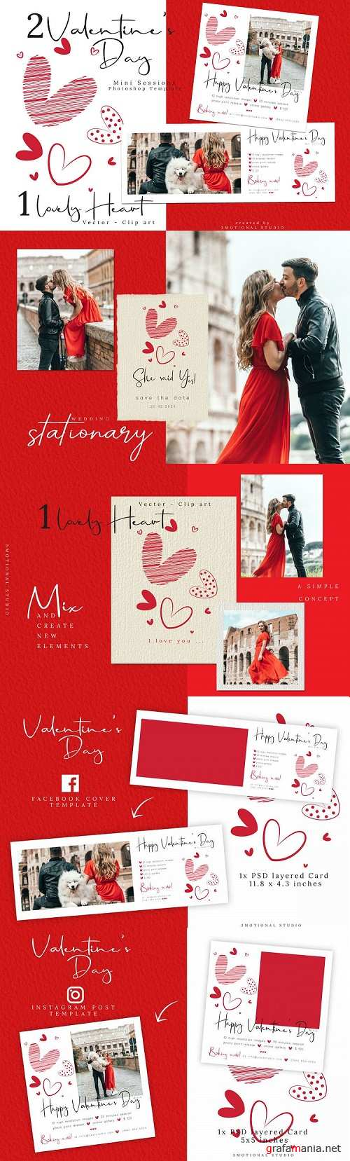 Valentine's Day Marketing Template - 417095