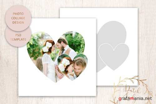 PSD Photo Collage Template #4 - 4411242