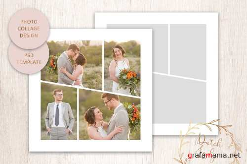 PSD Photo Collage Template #5 - 4418145