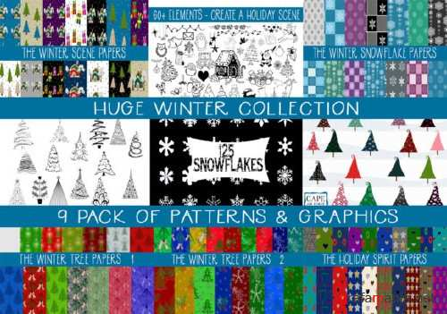 9 Pack Winter Mega-Collection